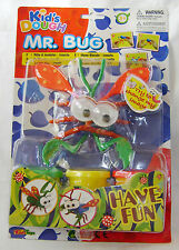 NEW MR BUG KIDS DOUGH MODELLING PLAY CLAY SET MAKE A FUNNY INSECT RED WINGS