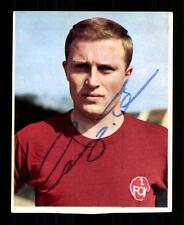 Horst Leupold 1 FC Norimberga 1966-67 sottrazione sammelbild ORIGINALE SIGN + a 102143