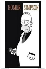 The Simpsons : Homer Scarface - Maxi Poster 61cm x 91.5cm (new & sealed)