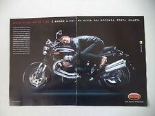 advertising Pubblicità 2005 MOTO GUZZI GRISO 1100