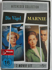 Hitchcock Collection Sammlung - Die Vögel & Marnie - Sean Connery, Tippi Hedren