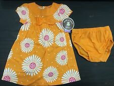 carters dress outfit underwear Size 12 months Flowers LOVE bum