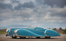 "1949 Delahaye Type 175 S Roadster Wide 11 X 14"" Photo Print"