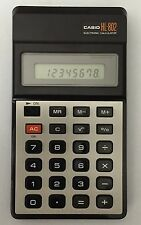 Vintage CASIO HL - 802 ELECTRONIC CALCULATOR  FROM 1980 - Works