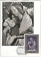 51608  - POLAND -  POSTAL HISTORY:  FDC MAXIMUM CARD - 1956  RELIGION