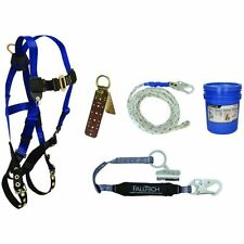 Falltech Contractors Roofers Kit Fall Protection Safety Harness 7593A 12659