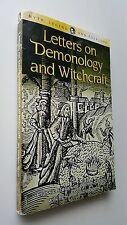 OCCULT Letters on Demonology and Witchcraft Walter Scott - FREE FAST SHIP!