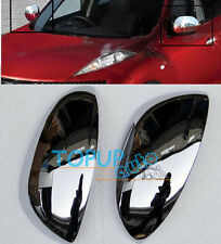 2PCS FIT FOR 2011-2013 NISSAN JUKE CHROME SIDE MIRROR COVER TRIM MOLDING CAP