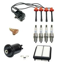 NEW Toyota Camry 86-91 Tune Up Kit Filters Kap Rotor Spark Plugs and Wire Set