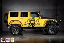 4X4 OFFROAD Mud Tire Decal Sticker Vinyl Wrap for SUV Truck Pickup JEEP Wrangler