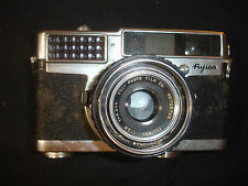 Old Vtg Fuijica 35-SE #702708 Camera W/Leather Holder & Strap Photography