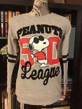 Peanuts League Snoopy Women's Sweatshirt Medium