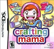 Crafting Mama (Nintendo DS) Lite DSi xl 2ds 3ds xl