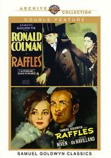 RAFFLES DOUBLE FEATURE (Ronald Colman/David Niven) - Region Free DVD - Sealed