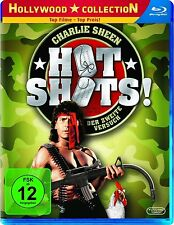 HOT SHOTS! Der zweite Versuch (Charlie Sheen, Lloyd Bridges) Blu-ray Disc NEU