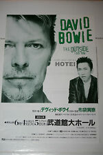 Original 1996 DAVID BOWIE Japanese Concert Handbill / Flyer