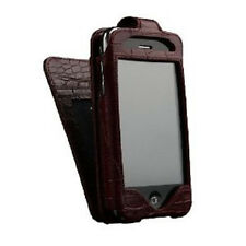 Sena WalletSkin Leather Folio Wallet Case for iPhone 3G S (Burgundy Red) New