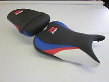 S38 Suzuki GSXR 600/750 K8,K9,K10 seat cover upgrade - Red/White/Blue - SET