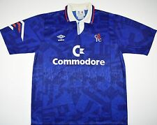 1991-1993 CHELSEA UMBRO HOME FOOTBALL SHIRT (SIZE L)