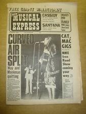 NME 1972 OCT 21 CURVED AIR CASSIDY SANTANA FLEETWOOD MAC ROD STEWART