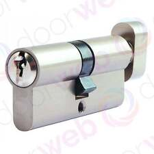 EURO LOCK CYLINDER Thumb Turn Barrel Security UPVC Door Aluminium 5 Pin T35/35