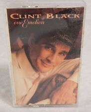 "Clint Black ""One Emotion"" cassette tape 1994"