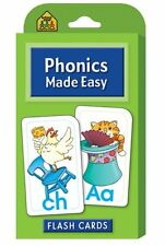 Phonics Flash Cards Preschool Learning Game for Kids, Teachers, Classroom
