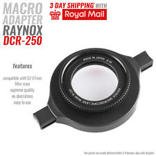 Raynox DCR-250 Macro Lens SNAP-ON 52-67mm perfect closeups good value low price