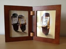 Usado - BAUME & MERCIER Wood Frames Double Marco de Fotos - Madera Wood - Used