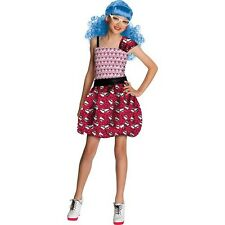 Monster High Ghoulia Yelps Girls Costume Size 8-10 Halloween Outfit NEW!