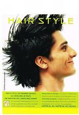 PUBLICITE ADVERTISING   1992   GARNIER  FRUCTIS  HAIR STYLE