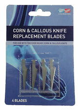 BRAND NEW EVER READY CORN & CALLOUS KNIFE REPLACEMENT BLADES