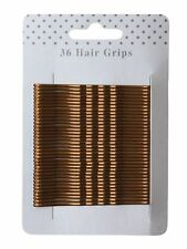 36 Traditional Kirby Hair Grips Slides Clips Pins - Size and Colour Choice