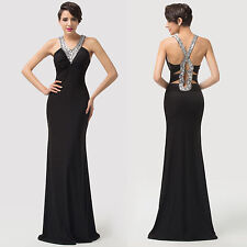 Chic Sequins Sexy Cocktail Dress Party Formal Evening Prom Dresses Wedding Gown