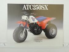 NOS 1986 Honda ATC 250SX 250 Dealer Brochure L1074