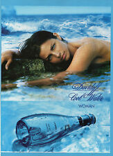 BELLEU000-PUBBLICITA'/ADVERTISING-2000- DAVIDOFF COOL WATER WOMAN