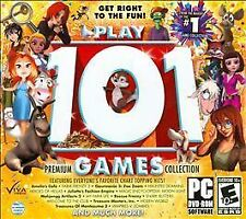 Play 101 Games Jewel Case (PC, 2012) *New,Sealed*