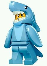 LEGO 71011 CMF Series 15 Shark Suit Guy (New) Animal Suit