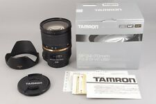 """#1341""""""""""""Mint"""""""""""" Tamron SP 24-70mm f/2.8 Di VC USD for Canon A007E from JAPAN"""