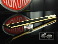 Aurora Thesi Ballpoint Pen Original 1970's Design Gold & Black Lacquer