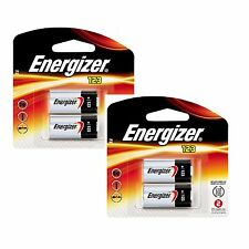 4 x Energizer CR123A CR123 123 3v Lithium Photo Battery Exp 2023