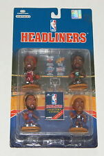 CORINTHIANS HEADLINERS NBA BASKETBALL FIGURES 4 PACK NEW Malone Rodman Barkley