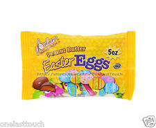 PALMER 5 oz Bag PEANUT BUTTER Chocolate Candy/Candies EASTER HALF EGGS Exp 6/17