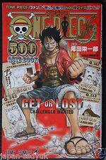 JAPAN Eiichiro Oda: One Piece 500 Quiz Book vol.1