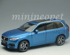 WELLY GT AUTOS 11009 2015 15 VOLVO XC 90 SUV 1/18 DIECAST MODEL CAR MATTE BLUE