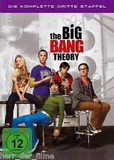 THE BIG BANG THEORY, Staffel 3 (3 DVDs) NEU+OVP