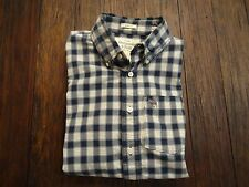 ABERCROMBIE MENS PLAID SHIRT BUTTON DOWN SIZE S