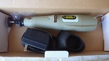 Cordless Rotary Tool Grinding Dremel type Grinder with new bits and power suppy