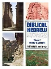 Biblical Hebrew Step by Step Readings from the Book of Genesis Volume 2, Menahem
