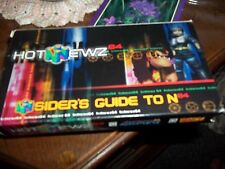 Hot Newz Insider's Guide to Nintendo N64 VHS Donkey Kong 64 Jet Force Gemini
